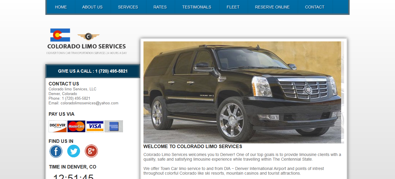 colorado limo services