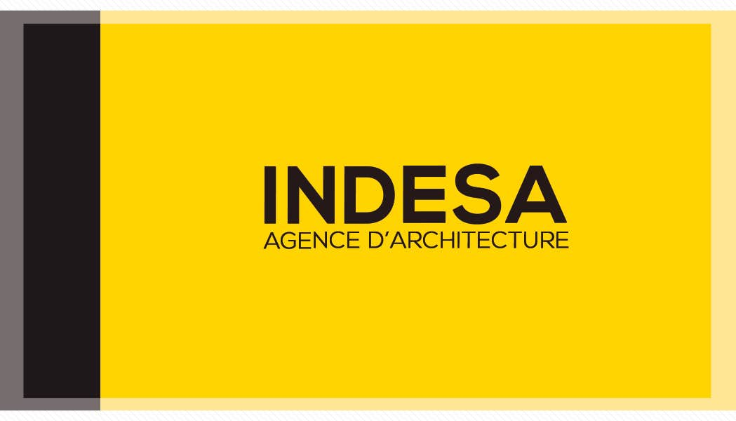 INDESA-architecture business card design