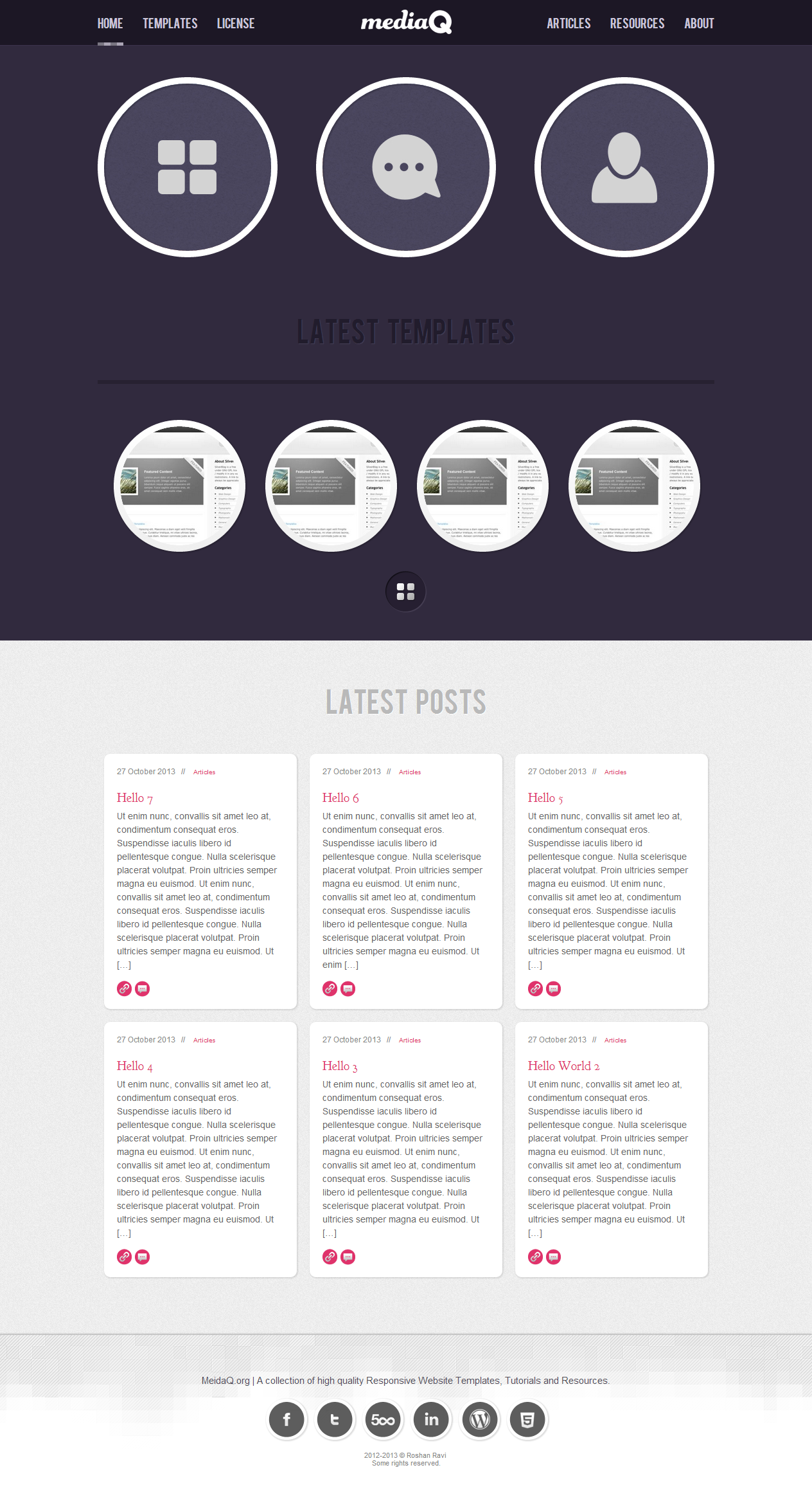 MediaQ.org | Responsive WordPress Theme