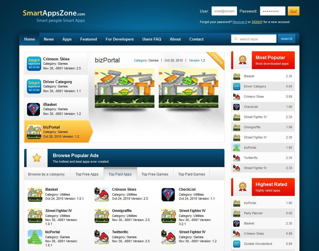 Developement of Mobile Phone Developers market place portal.