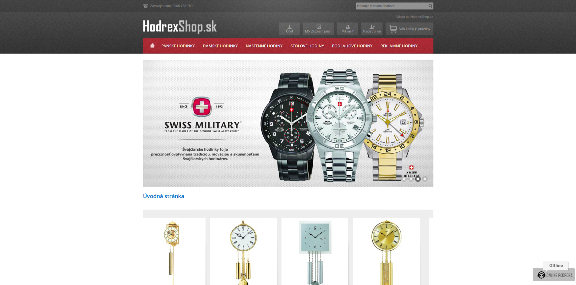 Watches eCommerce