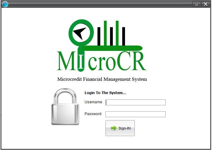 MicroCR- MicroFinance Management System