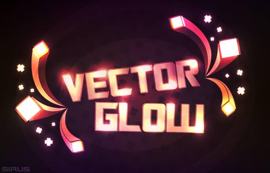 Vector Glow Text