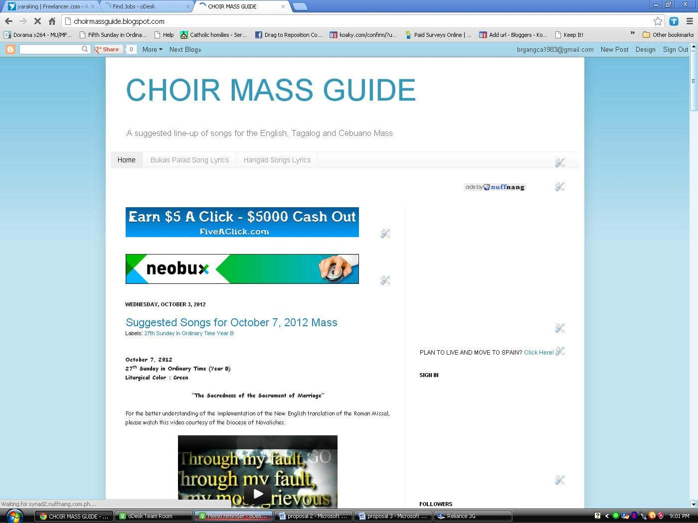 Choir Mass Guide