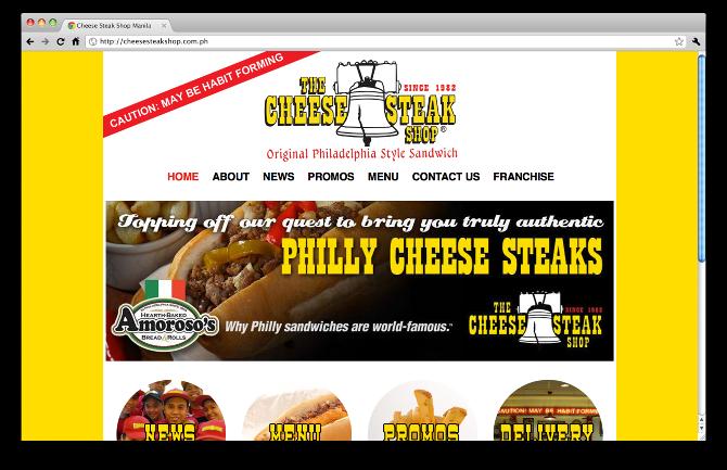 Cheese Steak Shop Manila