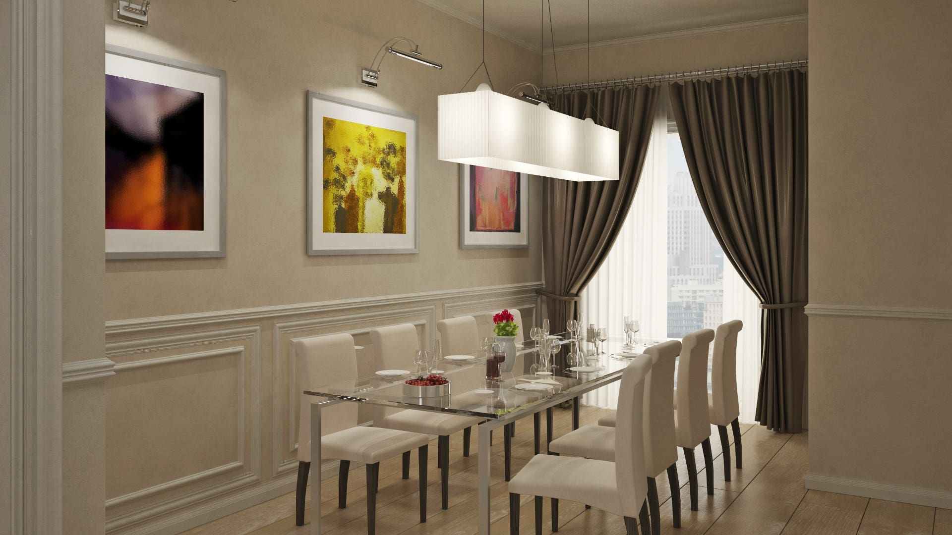 Italian style interior design - Apartments in China