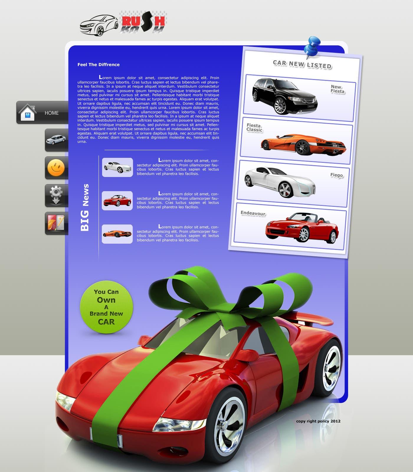 Auto-mobile Company Template