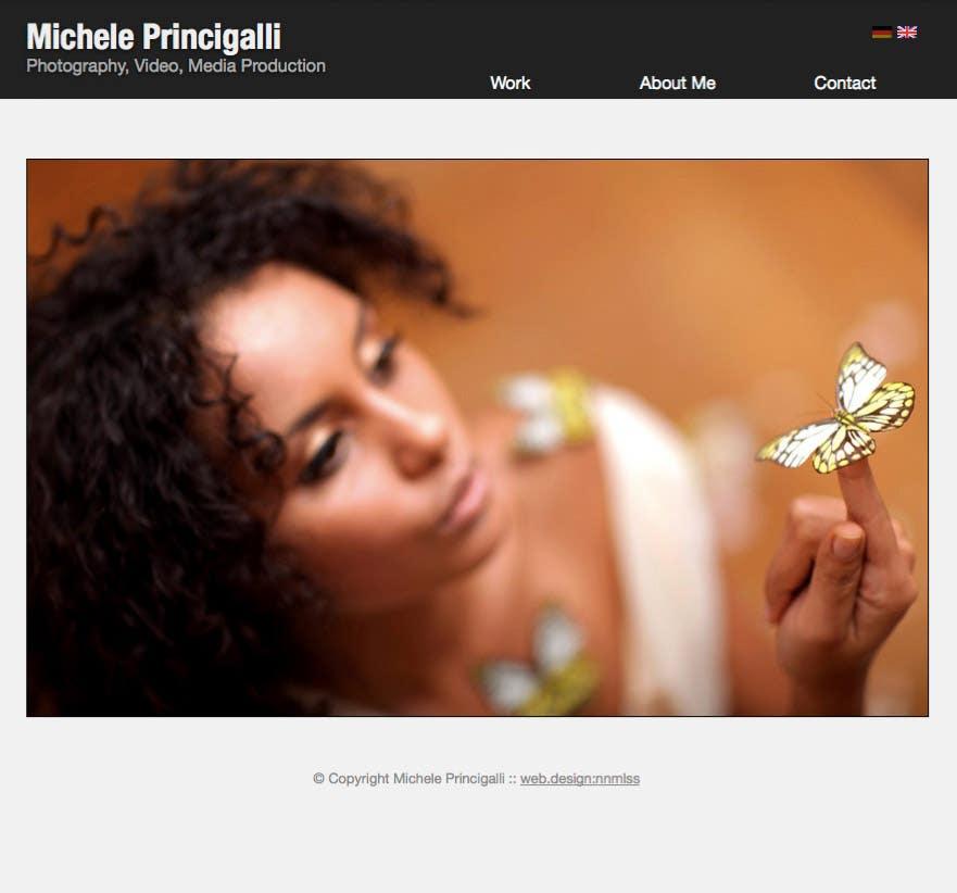 A photographer portfolio website
