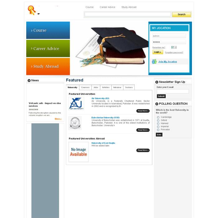 Students Job portal