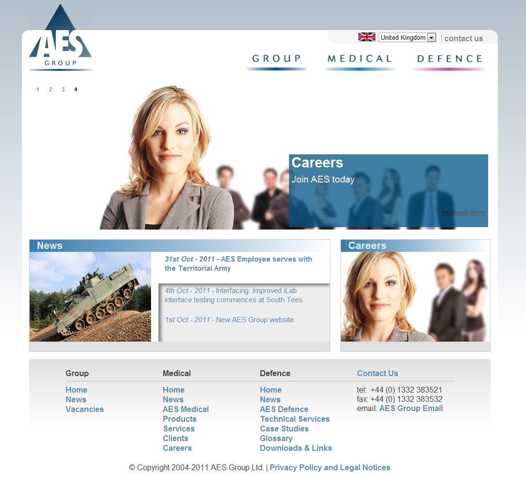 Advanced Expert Systems website redevelopment