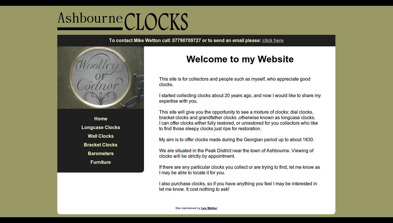 Ashbourne Clocks