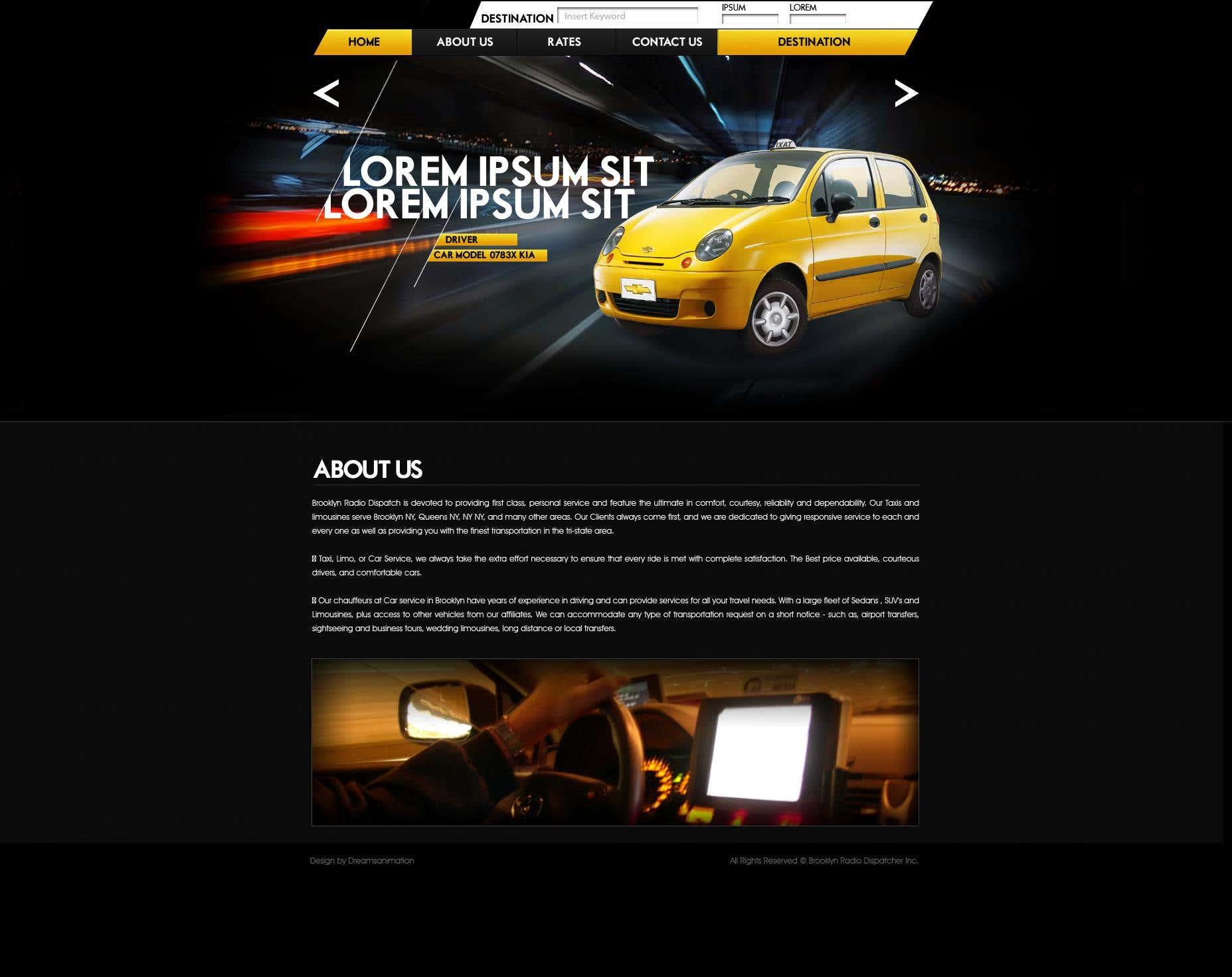 Web - Taxi Service