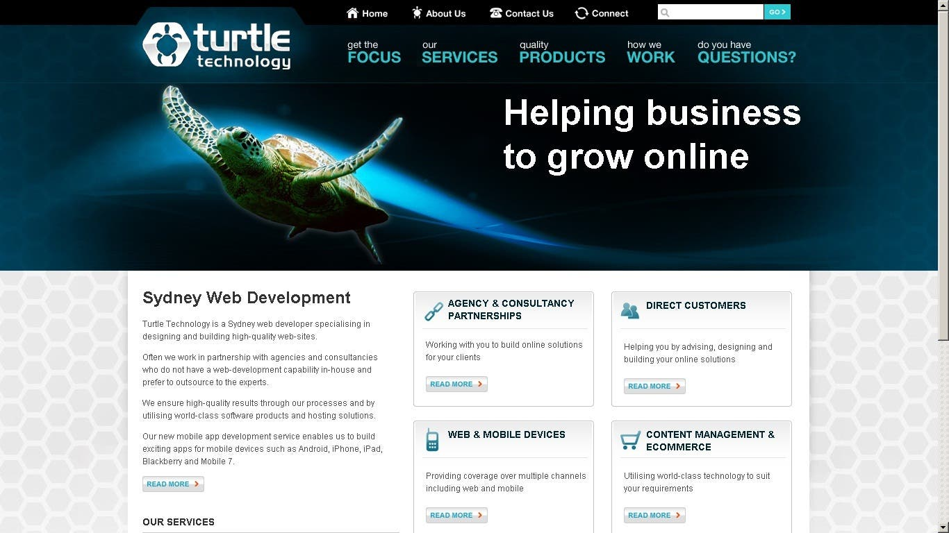 IT Services Website