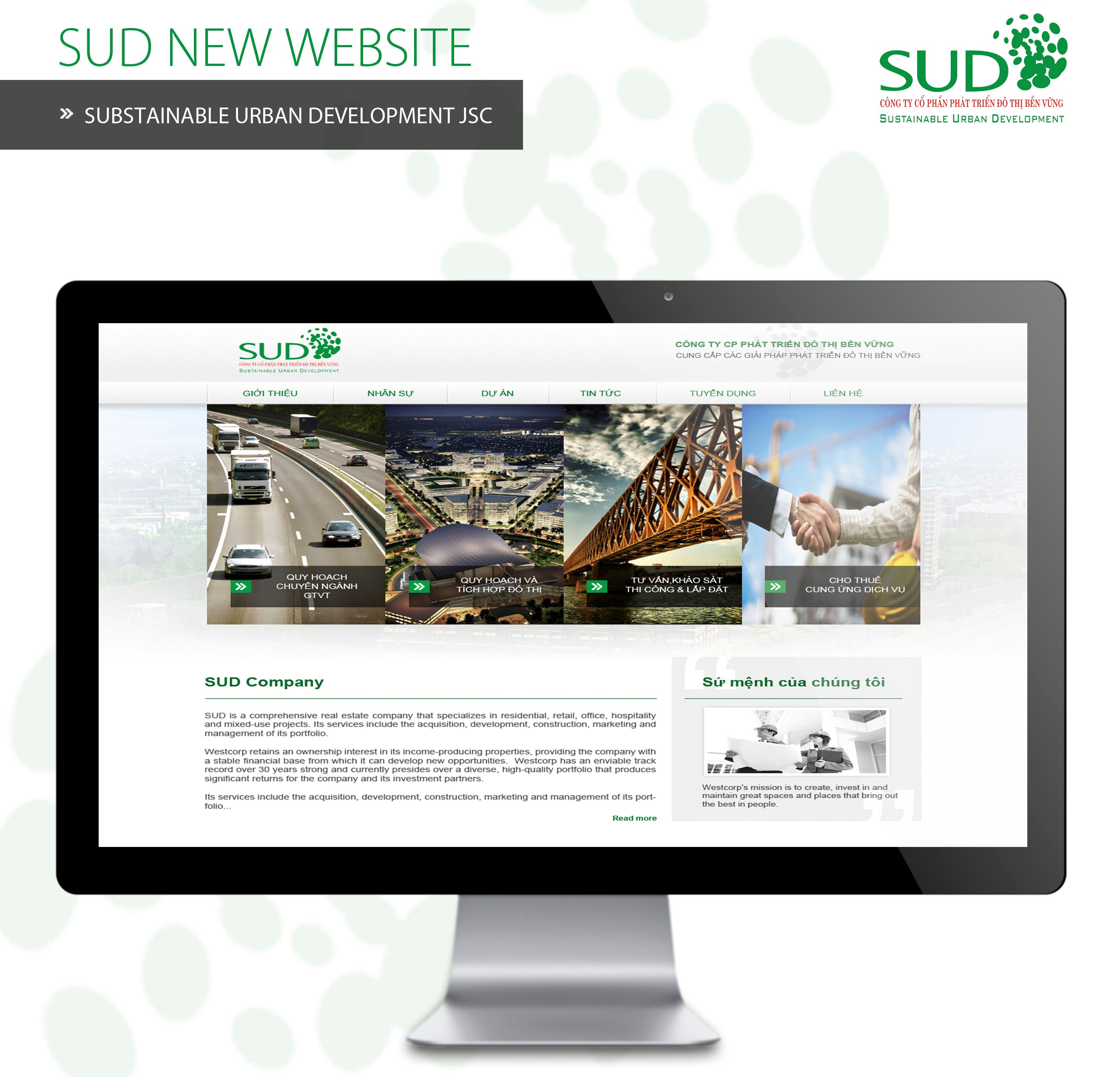 SUD Business Introduction Website!!