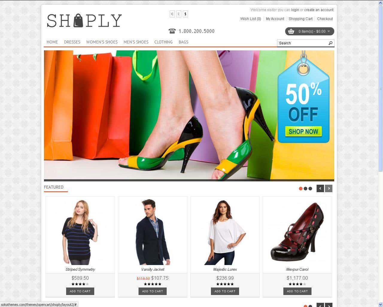 E Commerce Site