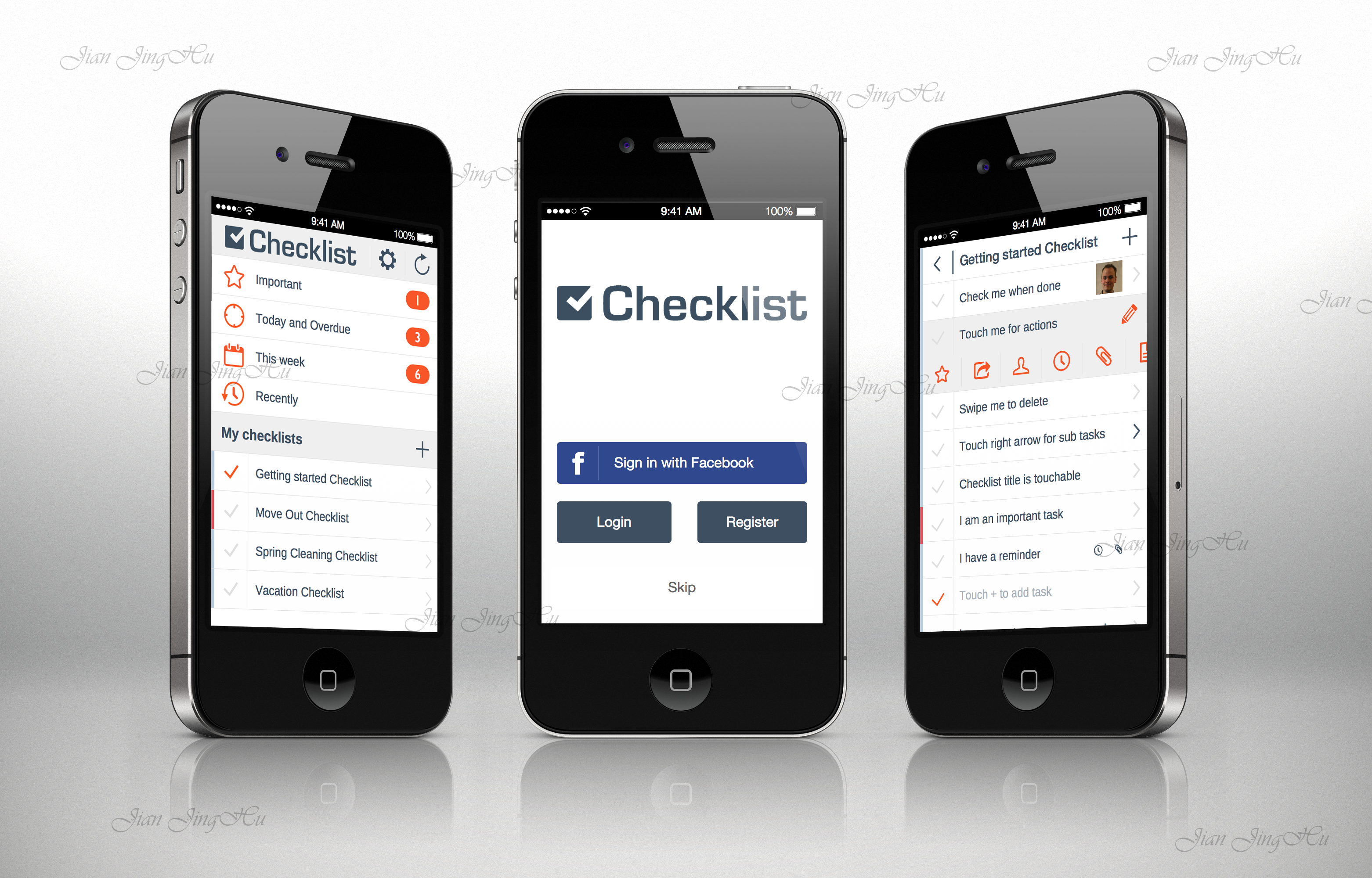CheckList iPhone app