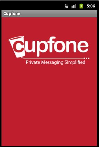 Cupfone