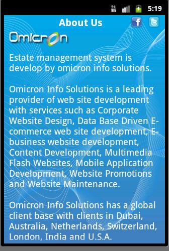Estate Management System