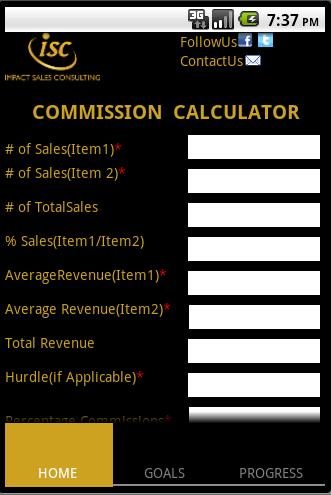 ISC Calculator