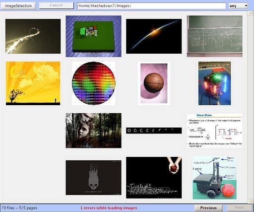 MatLab Image Browser