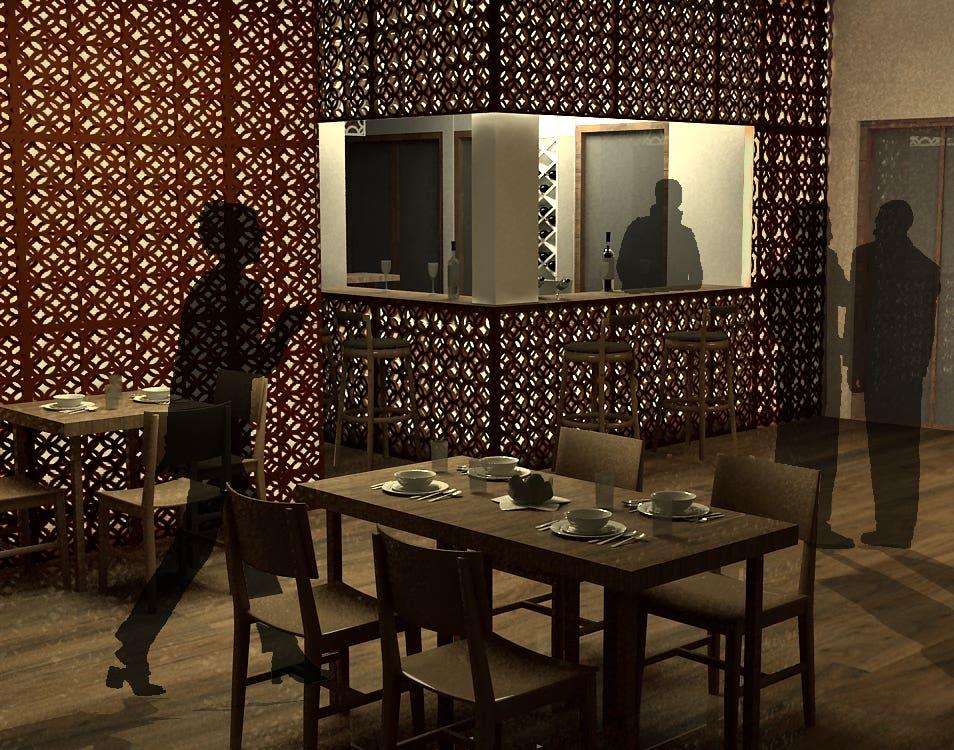 Professional Work - Restaurant Interior