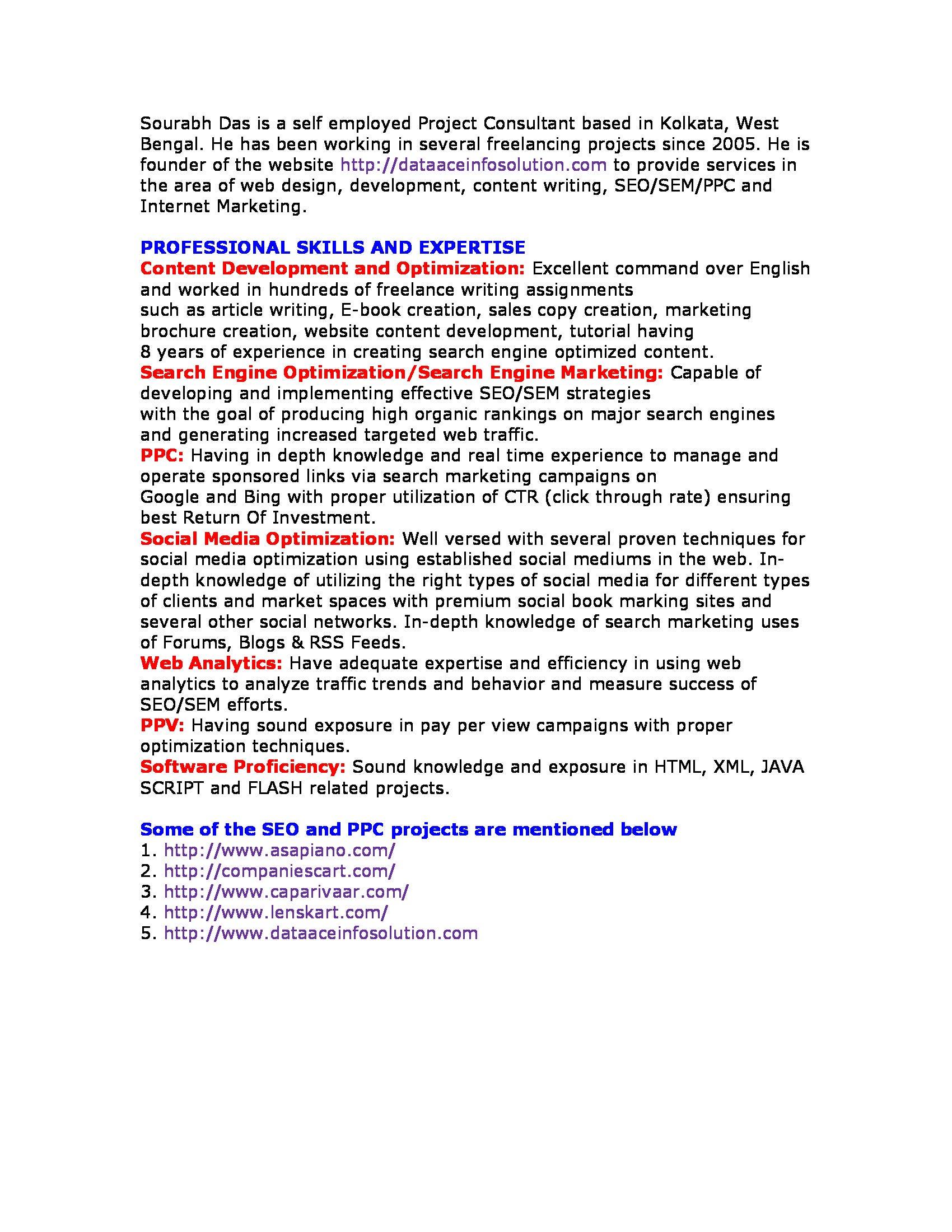 SEO& Content Service Provider