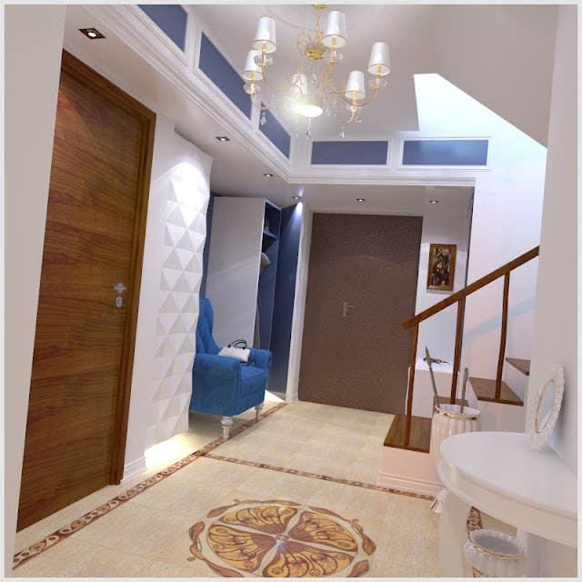 Coridor interior design
