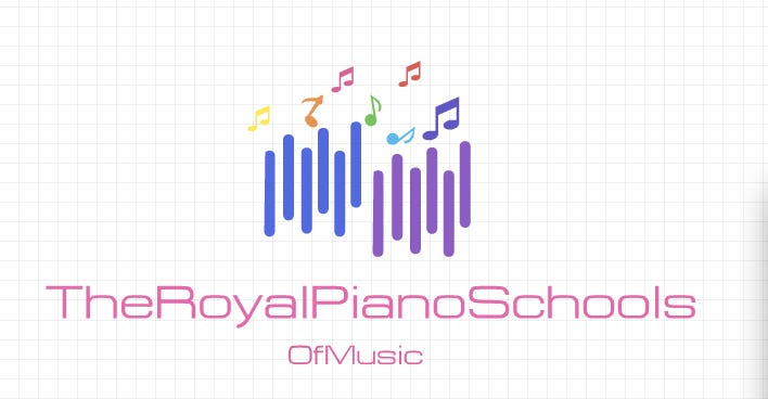 Logo designed for a piano school within 10 minutes of work.