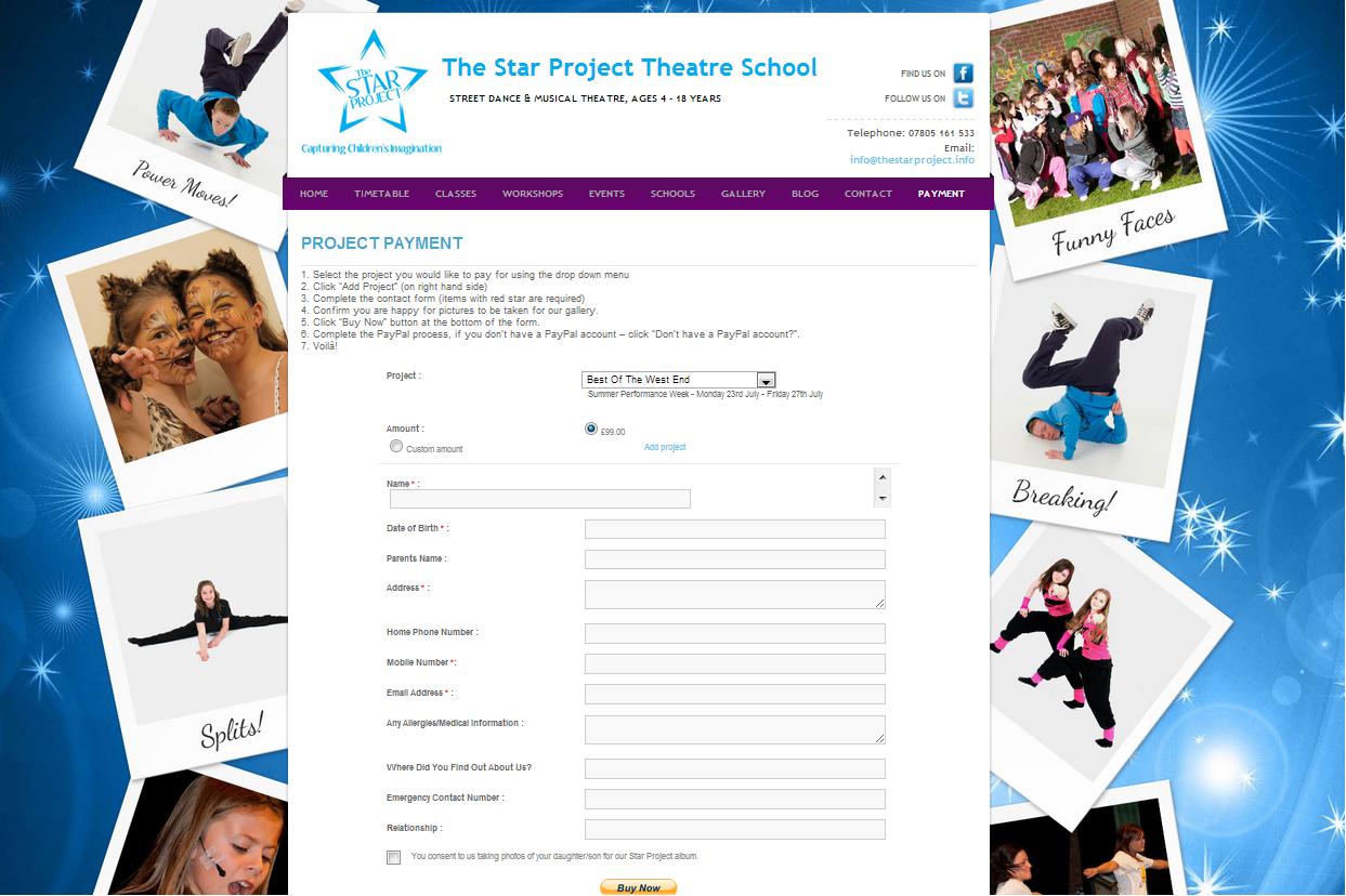 thestarprojecttheatreschool.co.uk