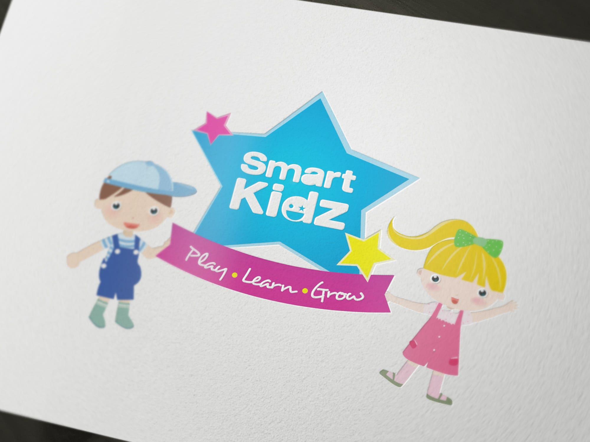 Smart Kidz Logo Designing