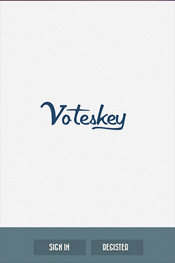 Voteskey  Android App