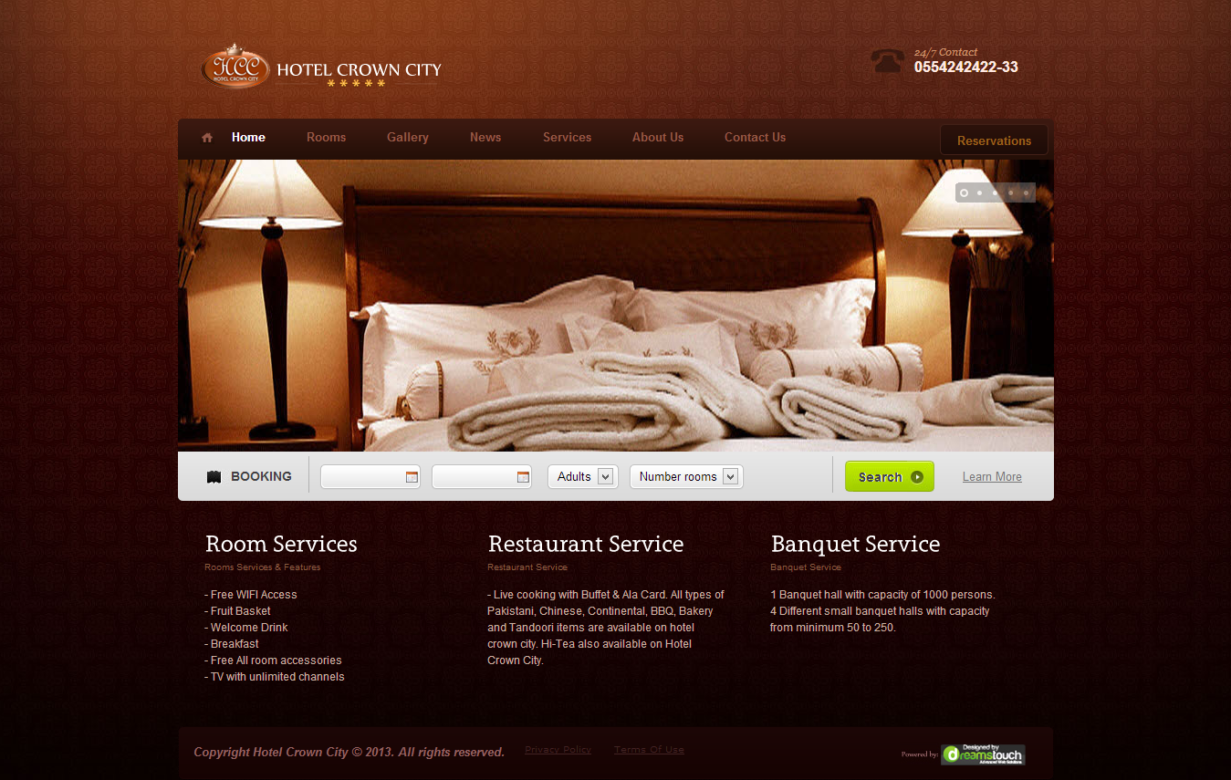 hotelcrowncity.com