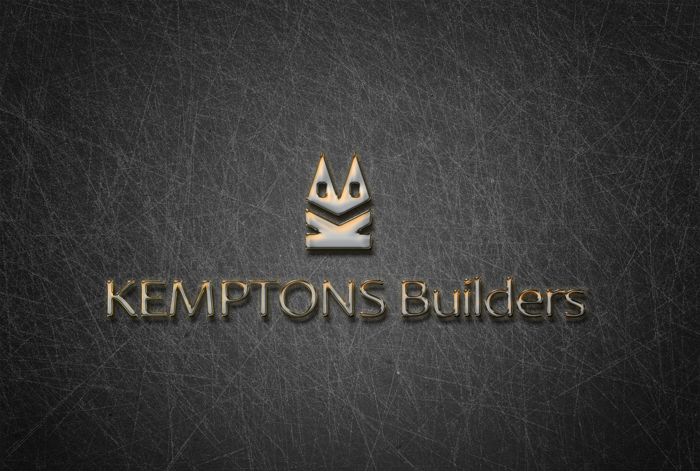 A logo for Kempons Builders