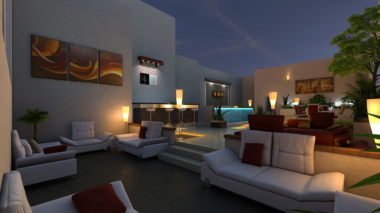 The Residence Rendering by Pixarch