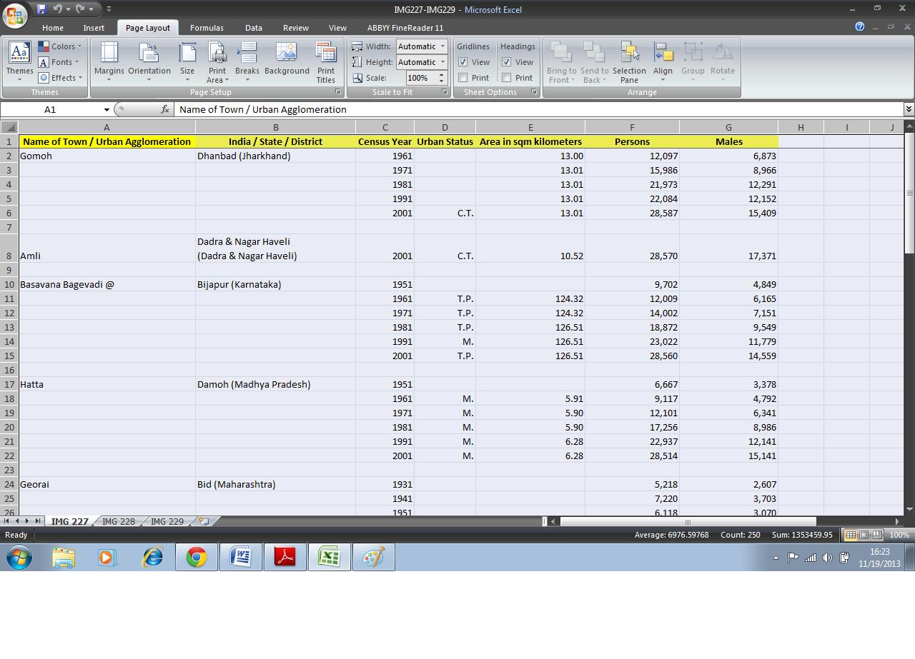 Manual Data Entry