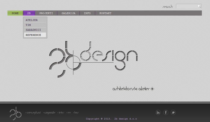 Web site: 2bdesign