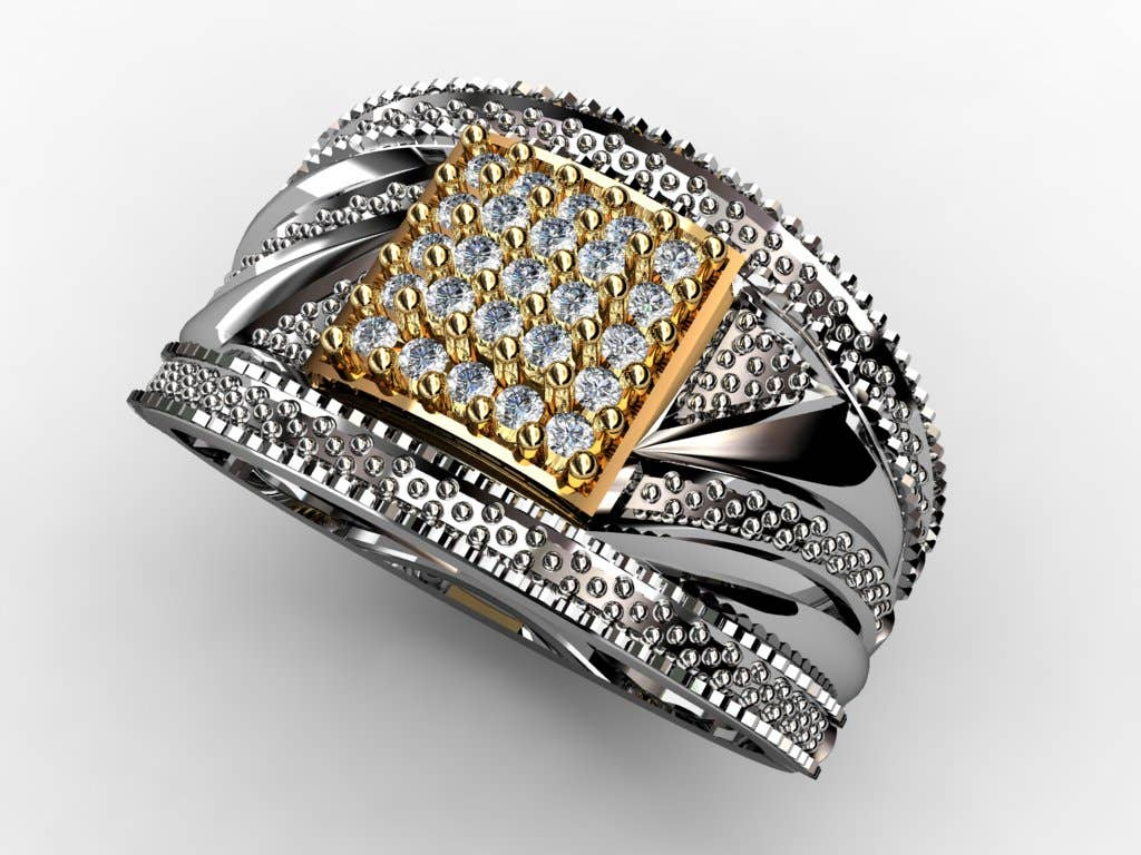 3d animation of wedding ring