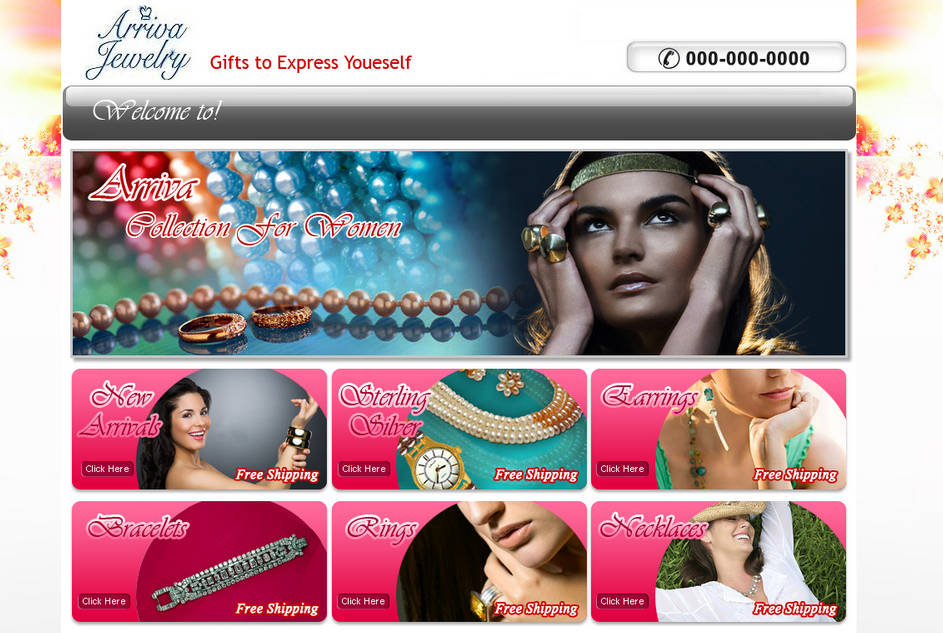 Jewelery Website