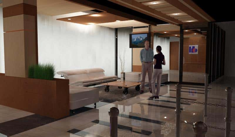 Interior Project of a Bank