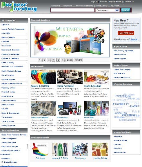 Business to Business Portal