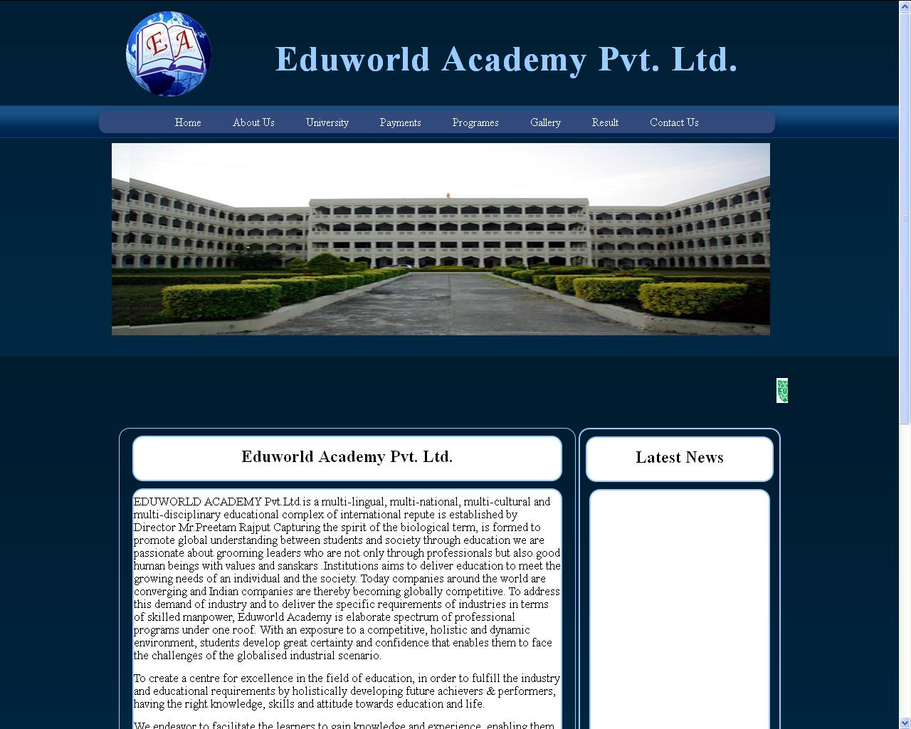 Eduworld Academy Site