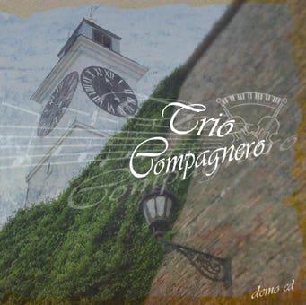CD Cover design - Trio Compagnero - Classic music
