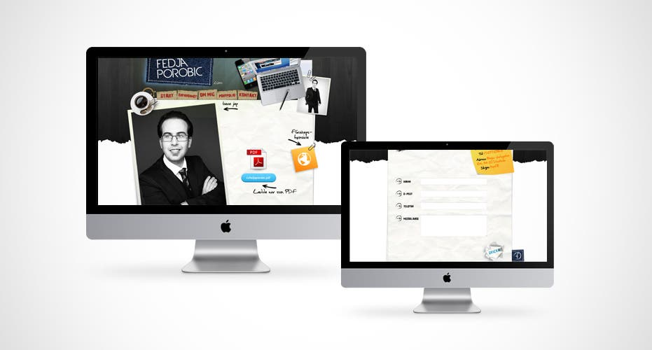 Fedja Personal Website