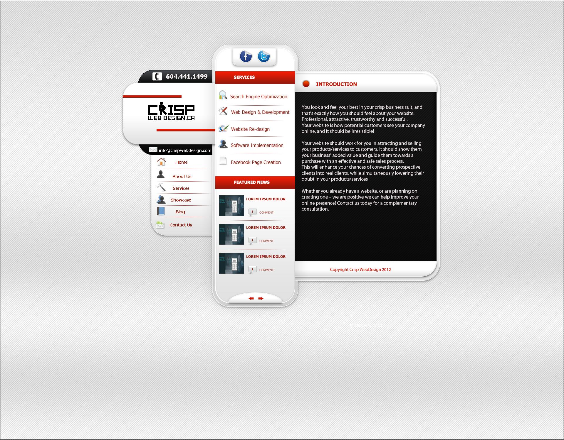 Full website design and coding