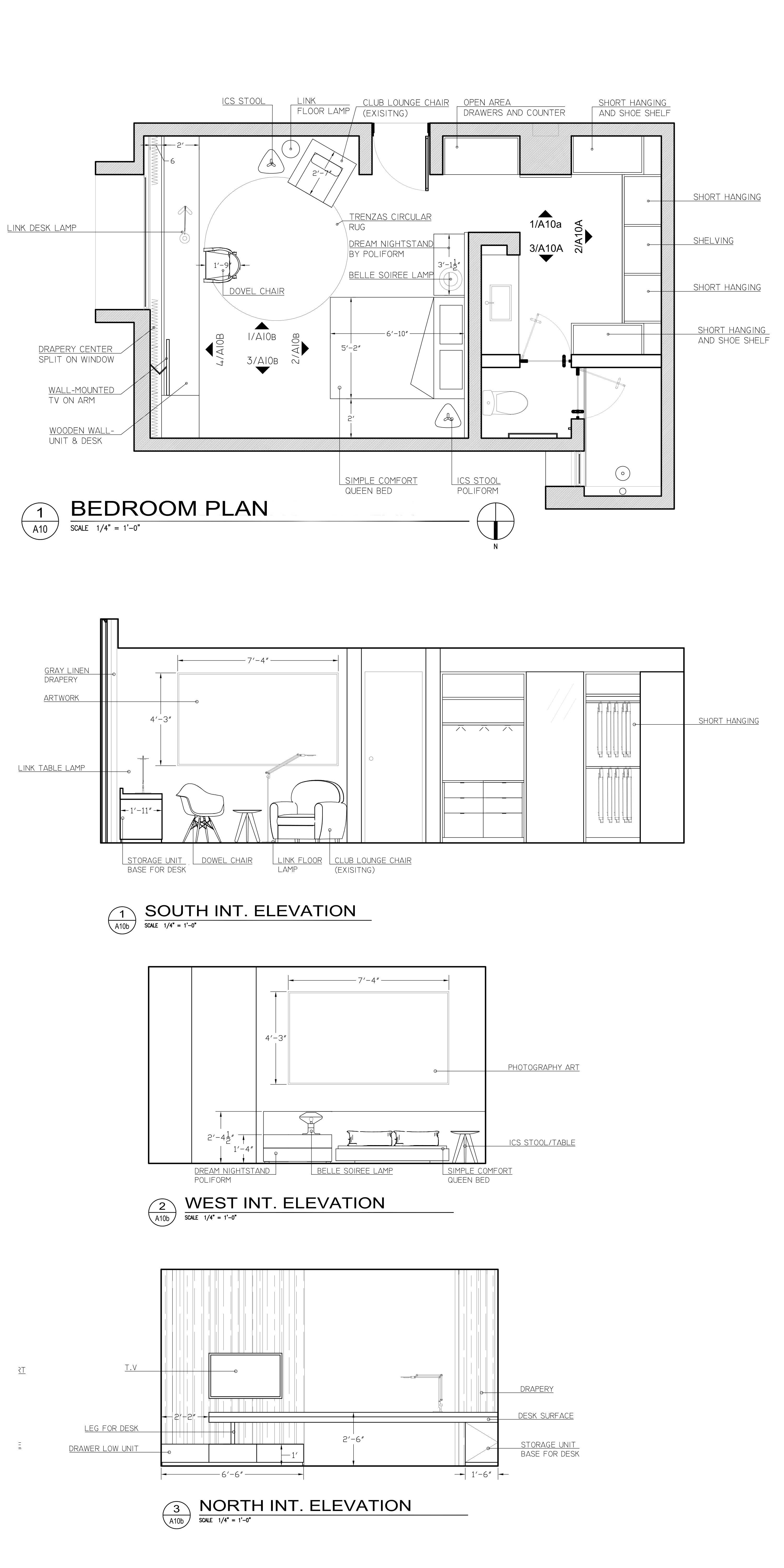 Autocad Drafting and Interior Design