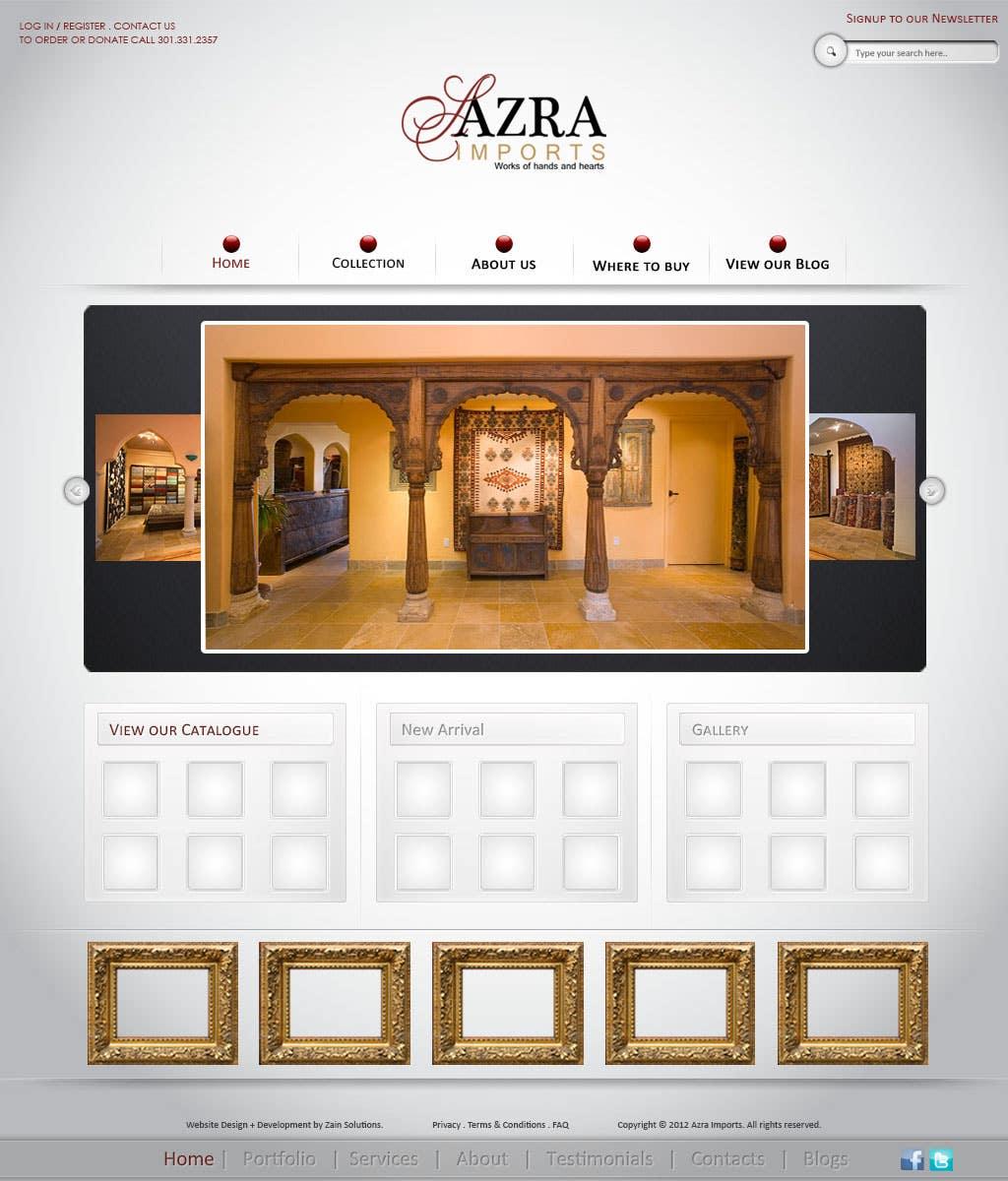 In-house designing of website