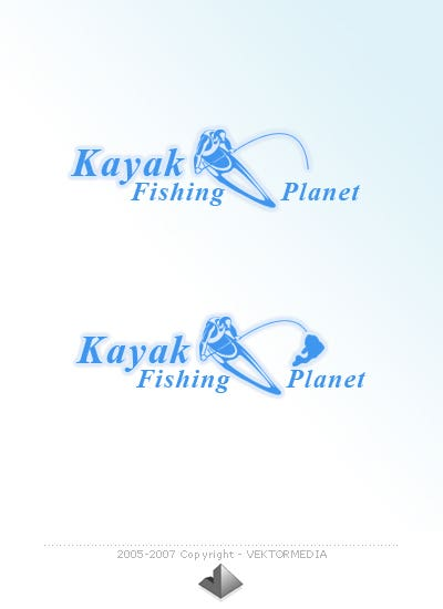 Kayak Fishing - Logo Design