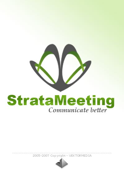 Strata Meeting - Logo Design