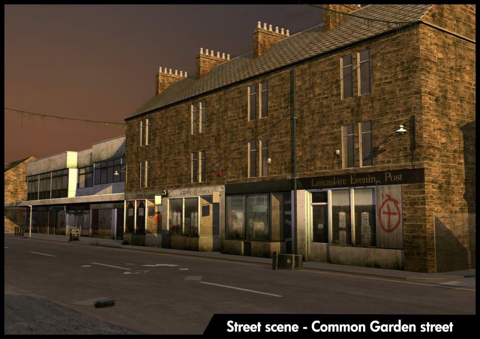 3d modelling - Street scene