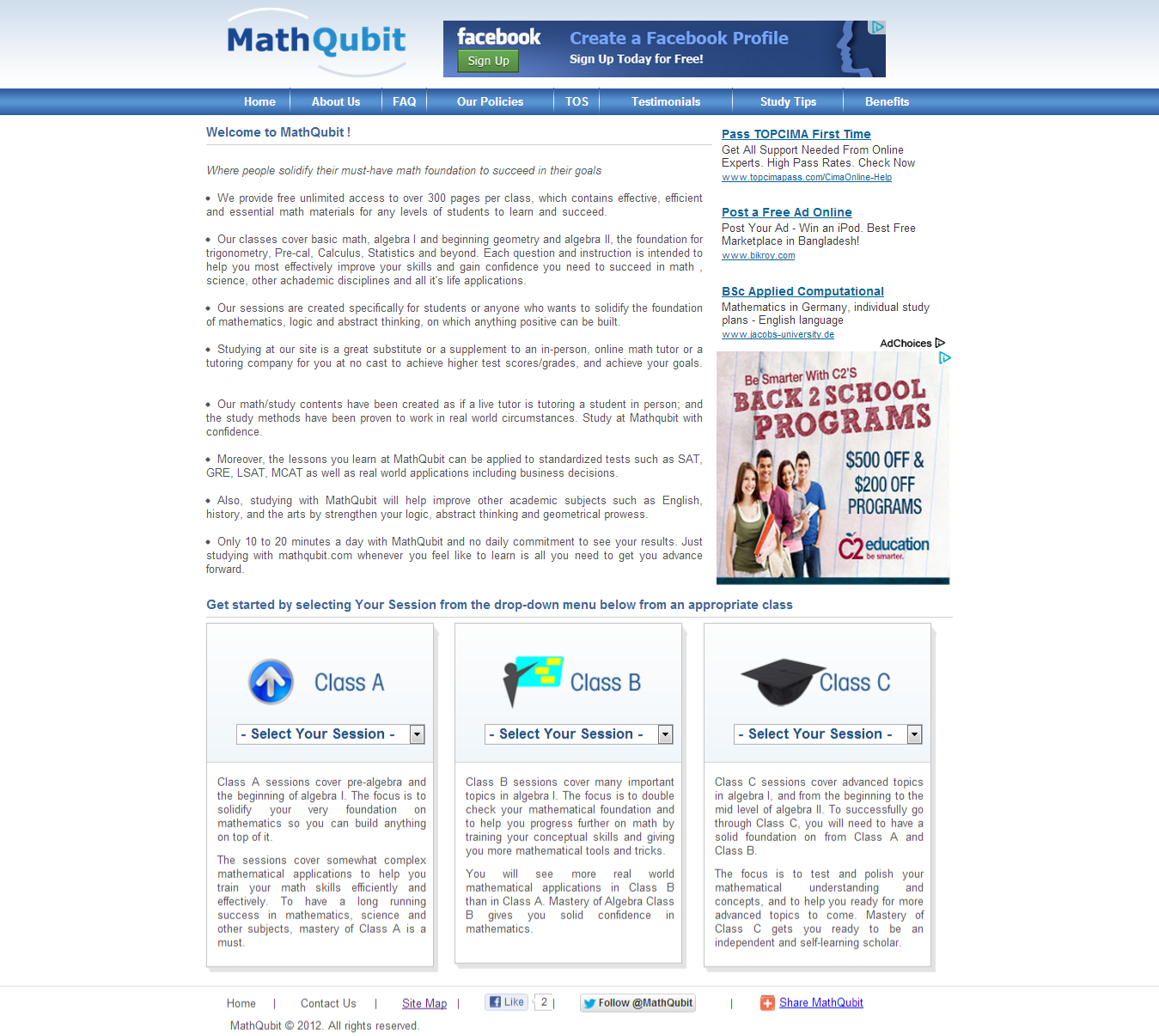 MathQubit.com Project